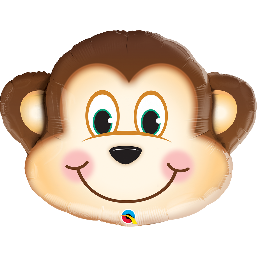 Shape Foil Mischievous Monkey Balloon