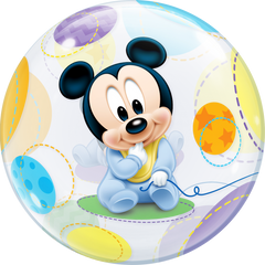 Disney Baby Mickey Mouse Bubble Balloon