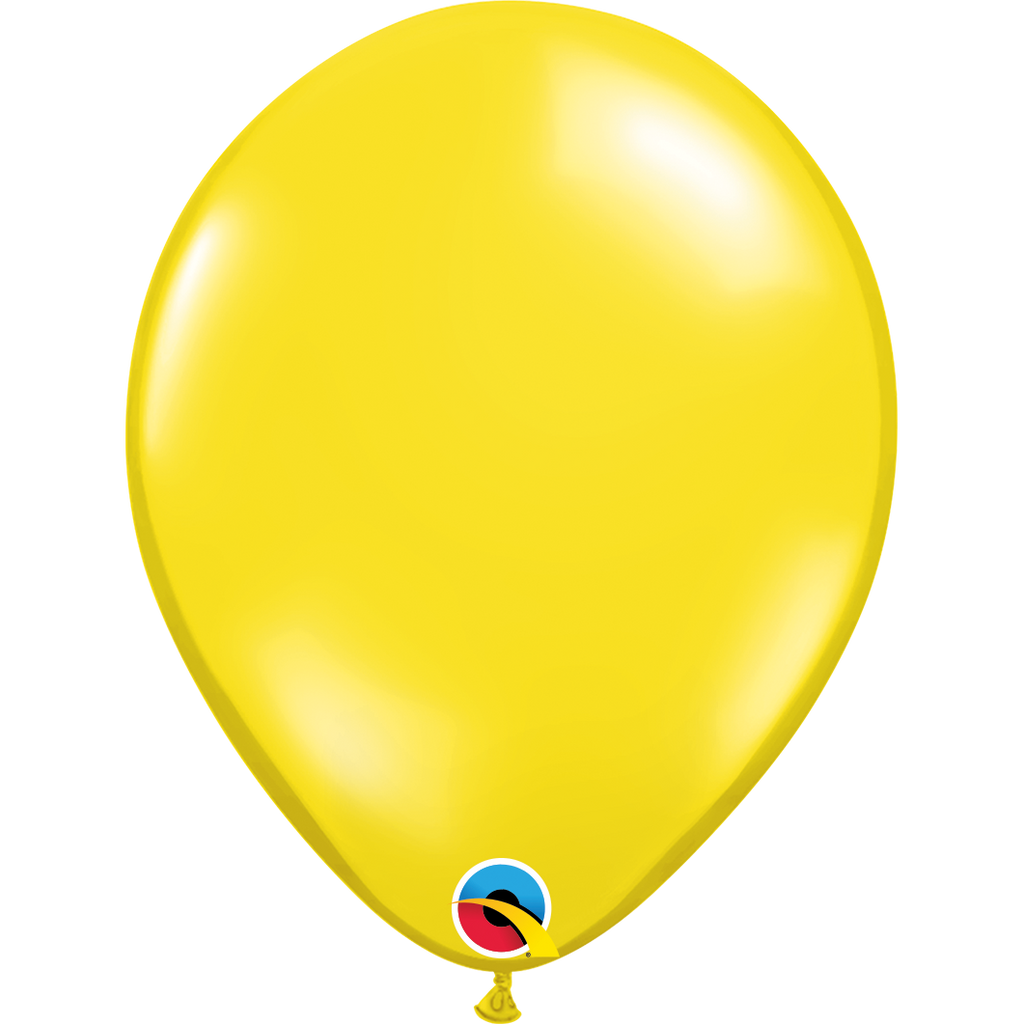 Jewel Citrine Yellow Balloons