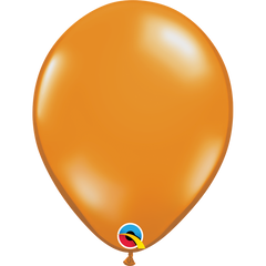 Jewel Mandarin Orange Balloons