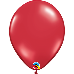 Jewel Ruby Red Balloons