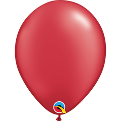 Pearl Ruby Red Balloons