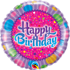 Birthday Sprinkles & Sparkles Balloon