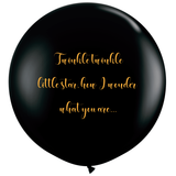 Twinkle Twinkle Little Star Gender Reveal Balloons