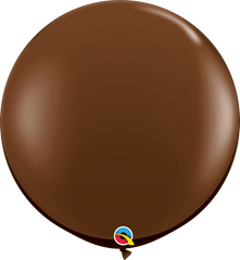 Fashion Chocolate Brown 3ft Round Balloons