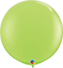 Fashion Lime Green 3ft Round Balloons