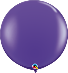 Fashion Purple Violet 3ft Round Balloons