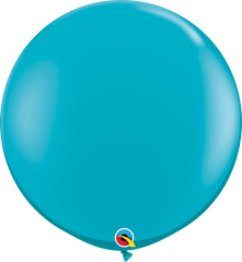 Fashion Tropical Teal 3ft Round Balloons