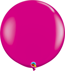 Fashion Wildberry 3ft Round Balloons