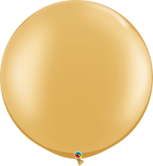 "Pearl Gold 30"" Round Balloons"