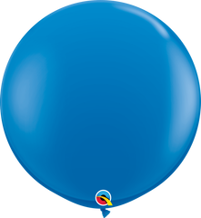 Dark Blue 3ft Round Balloons