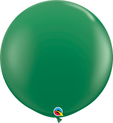 Green 3ft Round Balloons