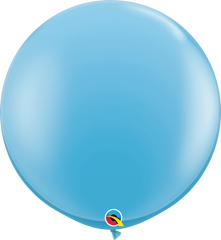 Pale Blue 3ft Round Balloons