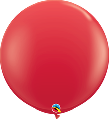 Red 3ft Round Balloons