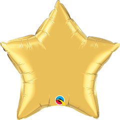 "20"" Gold Star Foil Balloon"