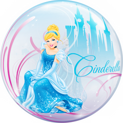Disney Cinderella's Royal Debut Bubble Balloon