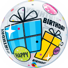 Birthday Fun & Funky Gifts Bubble Balloon