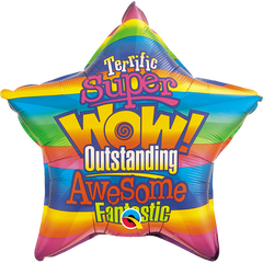 WOW! Stripes Balloon
