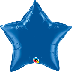 "20"" Blue Star Foil Balloon"