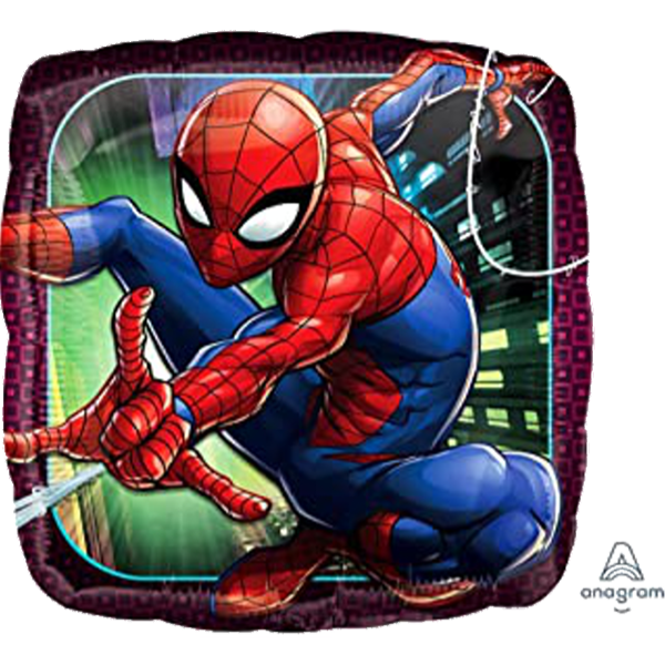 Spider-Man Square Foil Balloon