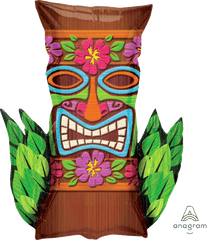 Tiki Time Supershape Balloon