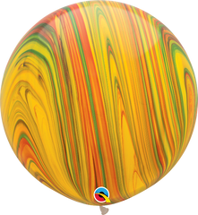 SuperAgates Traditional 3ft. Round Balloons