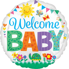 Welcome Baby Icon Balloon