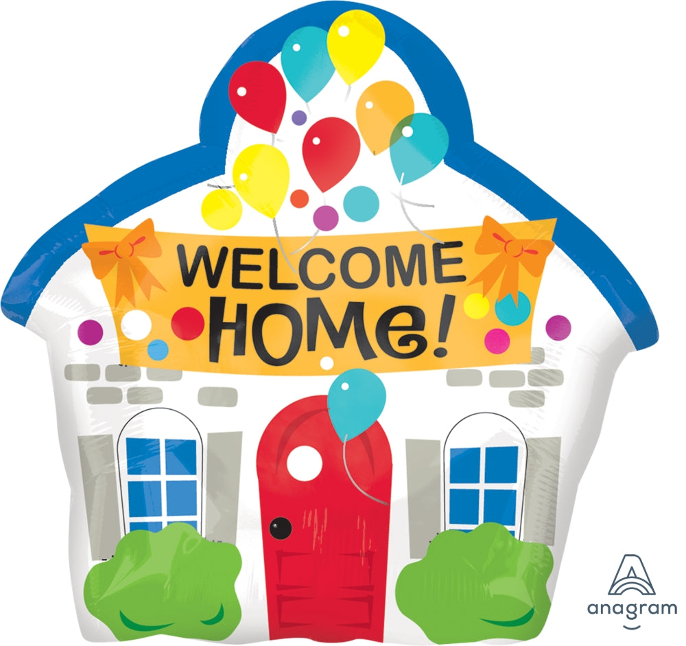Welcome Home House Jr. Shpape Balloon