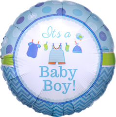 Shower With Love Boy Balloon