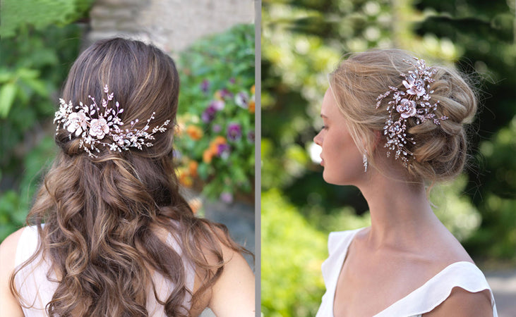 Very Versatile: Bridal Accessories for Nearly Any Hairstyle