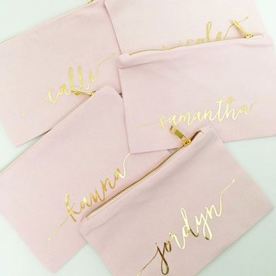 Personalized Bridesmaids Gifts for your Wedding Party
