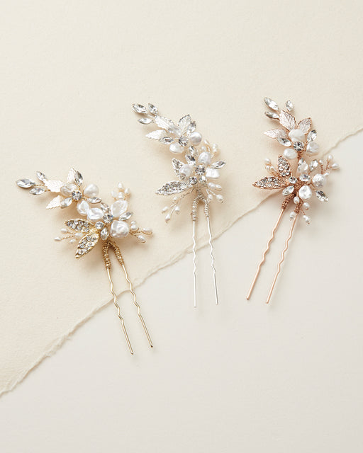 Floral Bridal Hair Pin