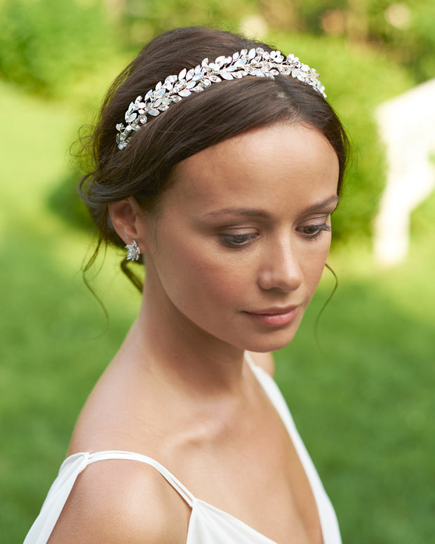 Opal Bridal Hair Piece