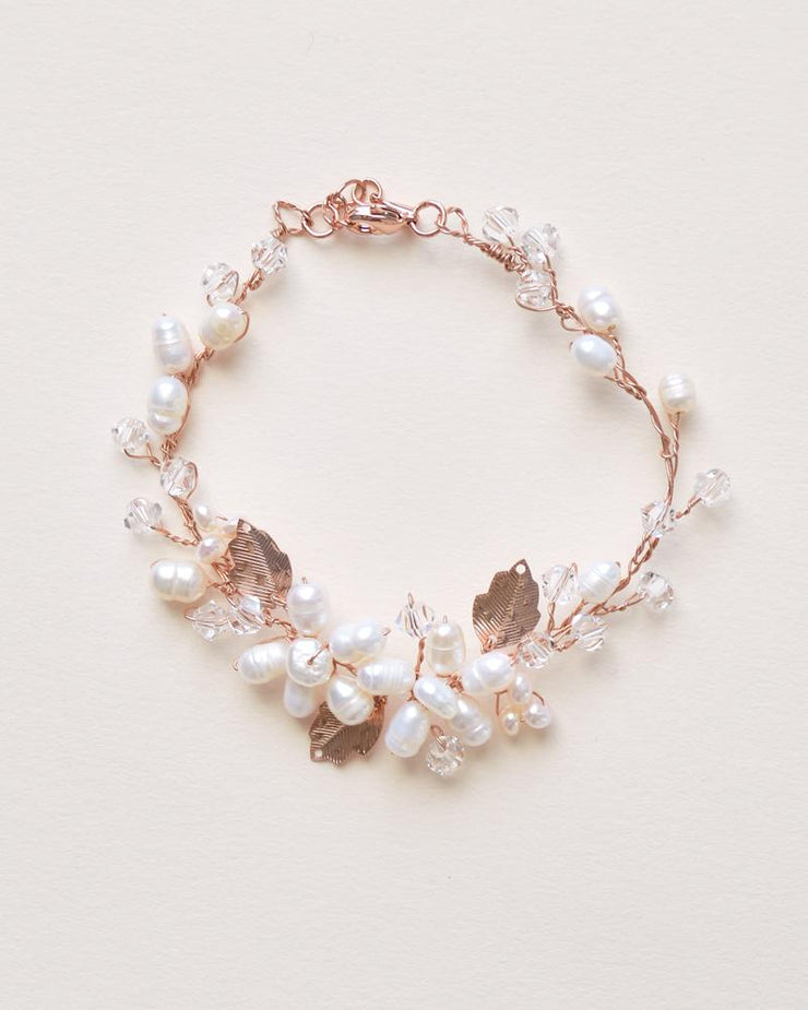 Rose Gold Bracelet for Wedding