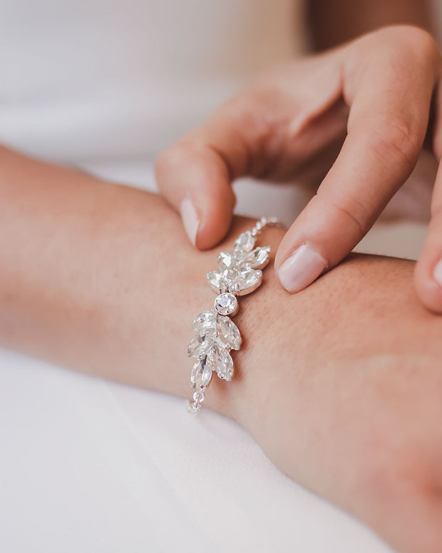 Crystal Wedding Bracelet