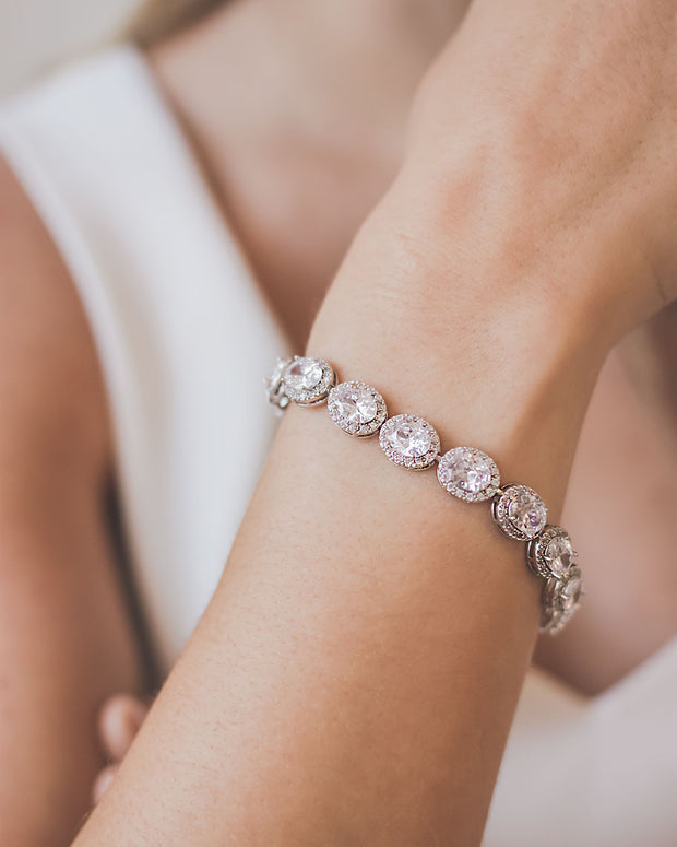 Wedding CZ Bracelet