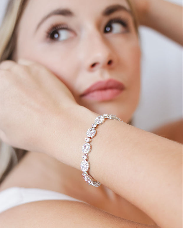 CZ Wedding Bracelet