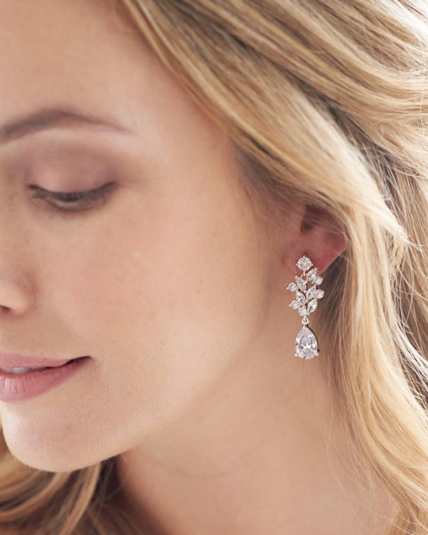 CZ Dangle Earrings