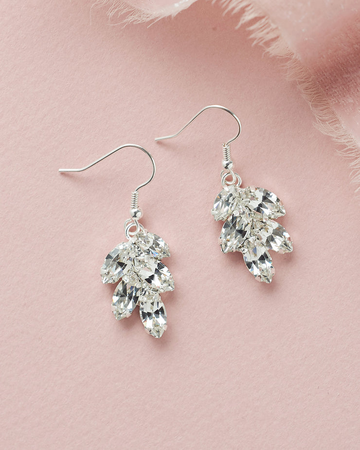 Crystal Wedding Earrings
