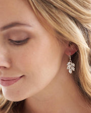 Delicate Bridal Drop Earring