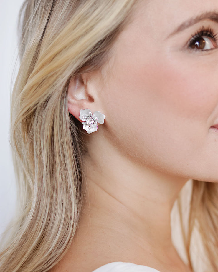 Stud Earring Floral