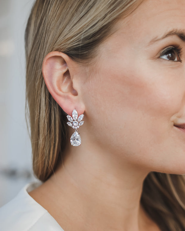 Bridal Earrings CZ