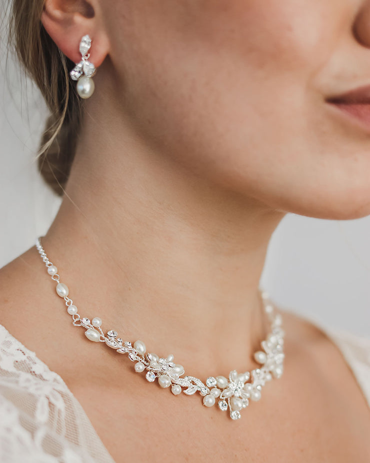 Wedding Jewelry with Pearl