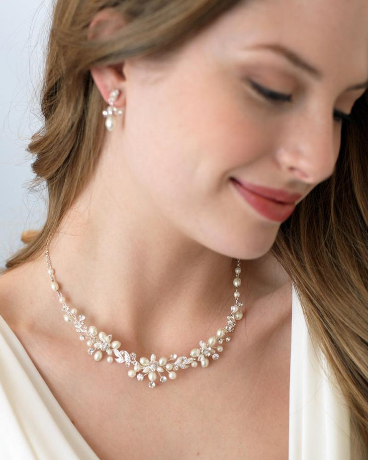 Pearl Bridal Jewelry Set