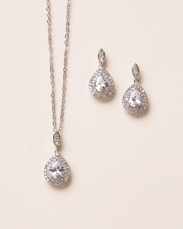 Silver Bridesmaid Jewelry