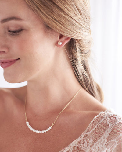 Pearl Necklace Bridesmaid
