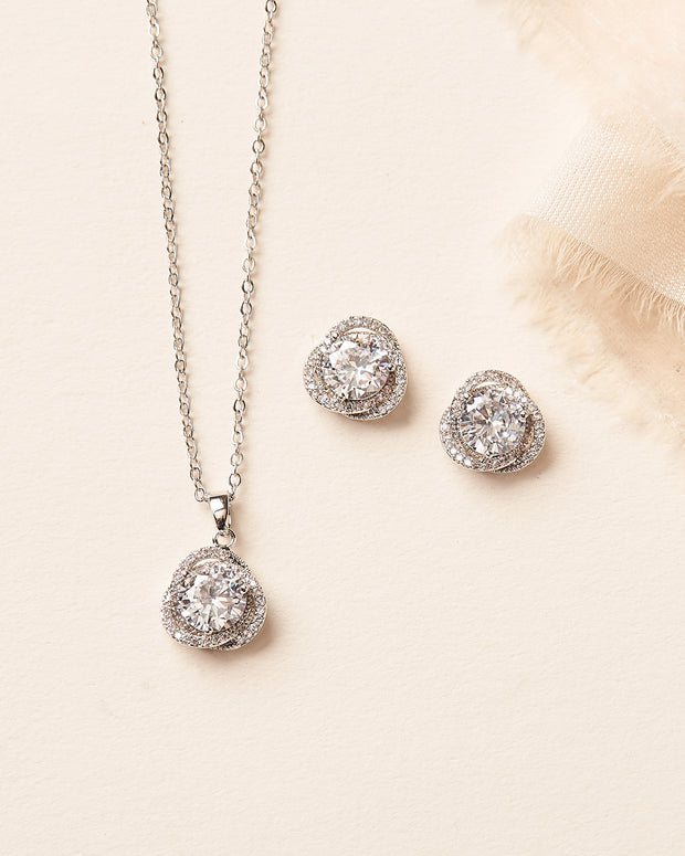 Teagan Bridesmaid Pendant Set