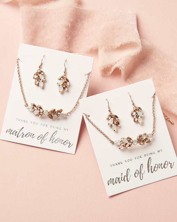 Maid of Honor Jewelry Gift