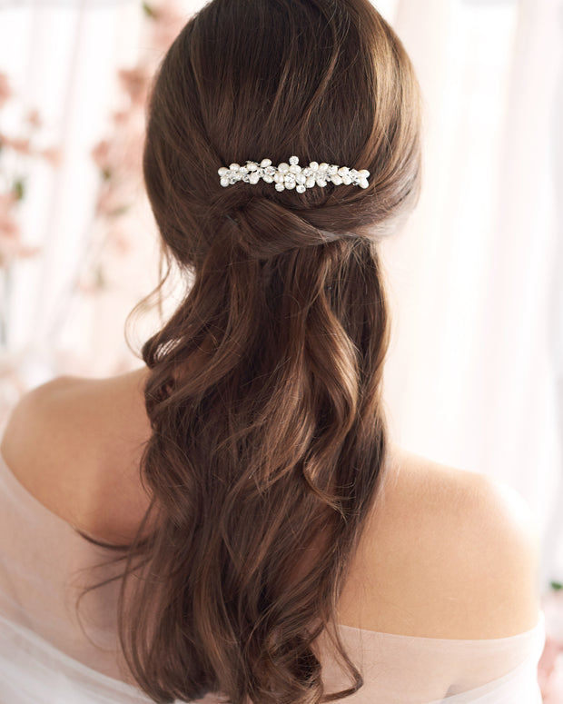 Small Pearl Wedding comb