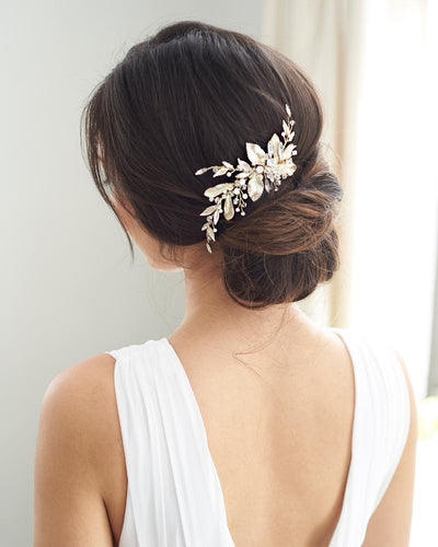 Gold Bridal Hair Clip